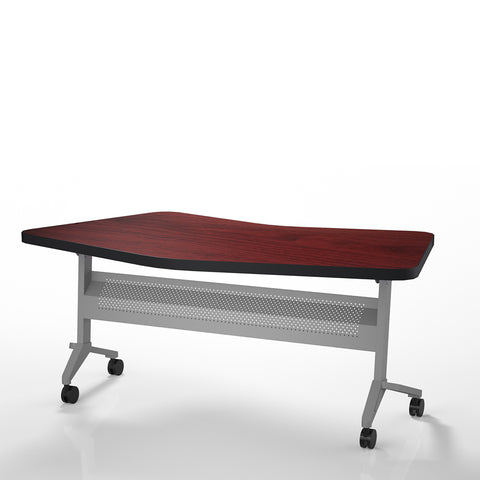 "Safco Products Flip-N-Go 24""x72"" Rectangular Training Table, LPL LT24TRMH(Image 2)"
