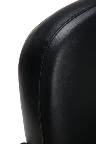 OFM Model 405-VAM Armless Guest and Reception Chair, Anti-Microbial/Anti-Bacterial Vinyl, Black ; UPC: 811588014361 ; Image 6