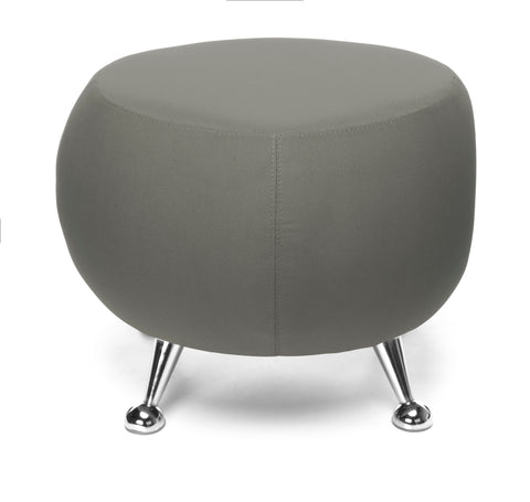 OFM Jupiter Series Fabric Ball Stool, in Gray (2001-2315) ; UPC: 845123053331 ; Image 3