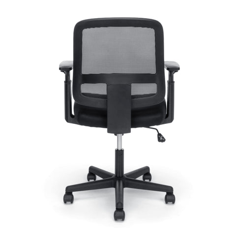 OFM Essentials Collection Mesh Back Chair with Adjustable Arms, Black (E3035) ; UPC: 845123089248 ; Image 3