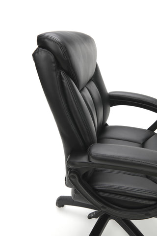 Essentials by OFM ESS-6020 Executive Office Chair, Black with Black Frame ; UPC: 845123092828 ; Image 6