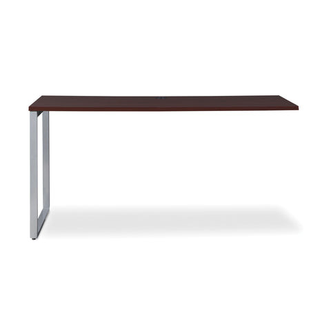 OFM Fulcrum Series 60x24 Credenza Desk, Desk Shell for Office, Mahogany (CL-C6024-MHG) ; UPC: 845123097335 ; Image 2