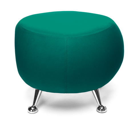 OFM Jupiter Series Fabric Ball Stool, in Green (2001-2331) ; UPC: 845123053355 ; Image 2