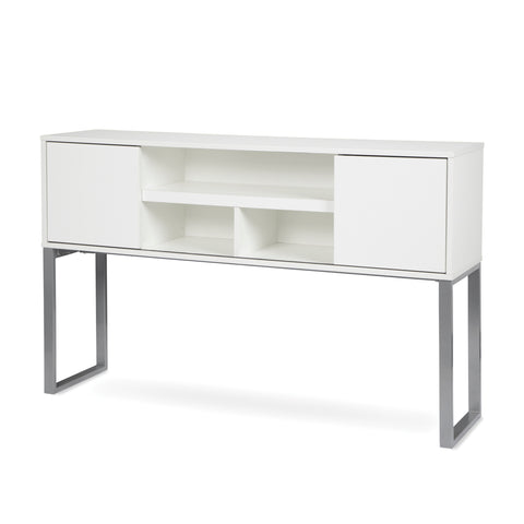 "OFM Fulcrum Series 60"" Hutch with Doors, Office Cabinet for Storage, White (CL-H6015-WHT) ; UPC: 845123097670 ; Image 6"