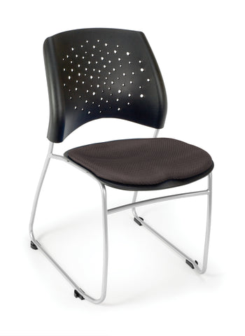 OFM 325-2213 Stars Stack Chair with Fabric Seat ; UPC: 845123004463 ; Image 1