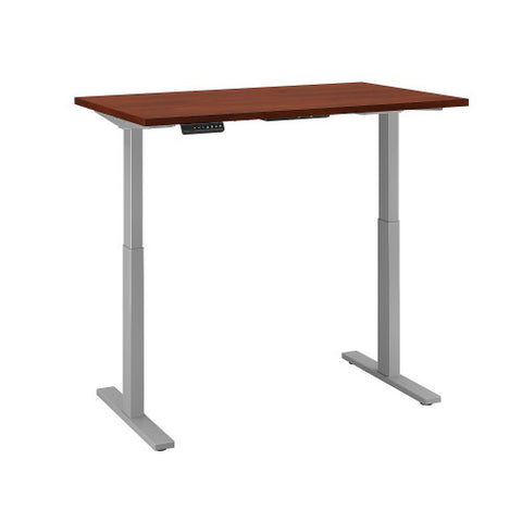 Bush Move 60 Series 48W x 24D Height Adjustable Standing Desk, Hansen Cherry M6S4824HCSK ; UPC: 042976066925 ; Image 3