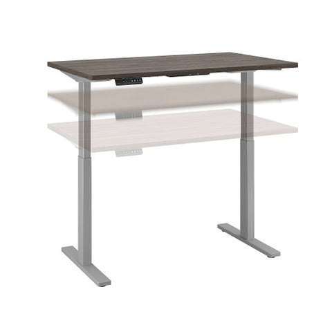 Bush Move 60 Series 48W x 30D Height Adjustable Standing Desk, Cocoa M6S4830COSK ; UPC: 042976074913 ; Image 1