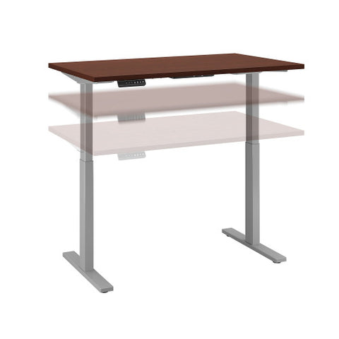 Bush Move 60 Series 48W x 30D Height Adjustable Standing Desk, Harvest Cherry M6S4830CSSK ; UPC: 042976067410 ; Image 1