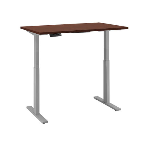 Bush Move 60 Series 48W x 30D Height Adjustable Standing Desk, Harvest Cherry M6S4830CSSK ; UPC: 042976067410 ; Image 3
