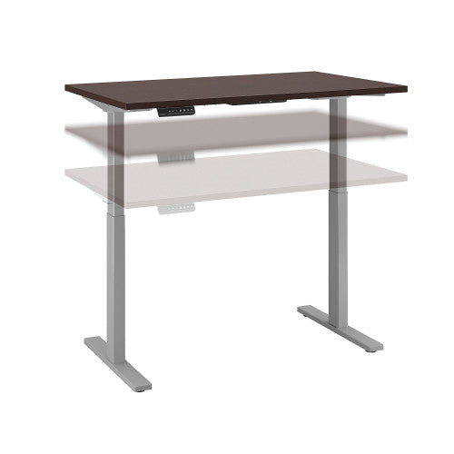 Bush Move 60 Series 48W x 30D Height Adjustable Standing Desk, Mocha Cherry M6S4830MRSK ; UPC: 042976067281 ; Image 1