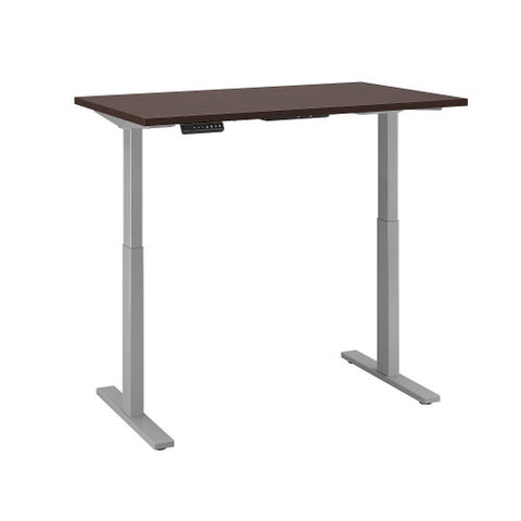 Bush Move 60 Series 48W x 30D Height Adjustable Standing Desk, Mocha Cherry Satin M6S4830MRSSK ; UPC: 042976067328 ; Image 3