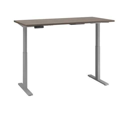 Bush Move 60 Series 60W x 30D Height Adjustable Standing Desk, Cocoa M6S6030COSK ; UPC: 042976074876 ; Image 3