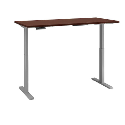 Bush Move 60 Series 72W x 30D Height Adjustable Standing Desk, Harvest Cherry M6S7230CSSK ; UPC: 042976068660 ; Image 3