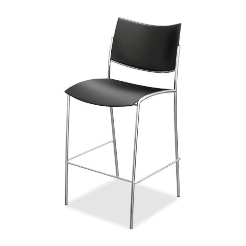 Mayline Escalate Stackable Stool MLNESS2B, Black (UPC:760771133153)