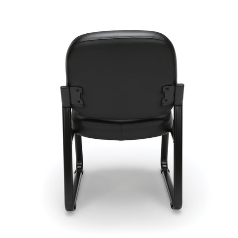 OFM Model 405-VAM Armless Guest and Reception Chair, Anti-Microbial/Anti-Bacterial Vinyl, Black ; UPC: 811588014361 ; Image 3