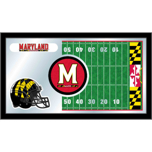 "Maryland 15"" x 26"" Football Mirror by Holland Bar Stool Company; UPC: 071235384074"