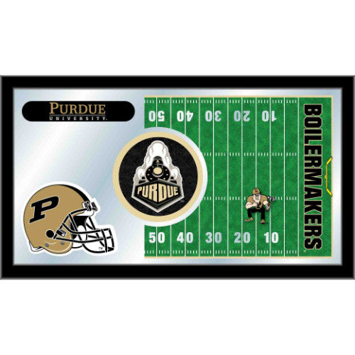 "Purdue 15"" x 26"" Football Mirror by Holland Bar Stool Company; UPC: 071235384272"