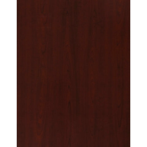 Bush Business Furniture Milano2 72W x 24D Left-Handed L Station in Harvest Cherry ; UPC: 042976797225 ; Image 3