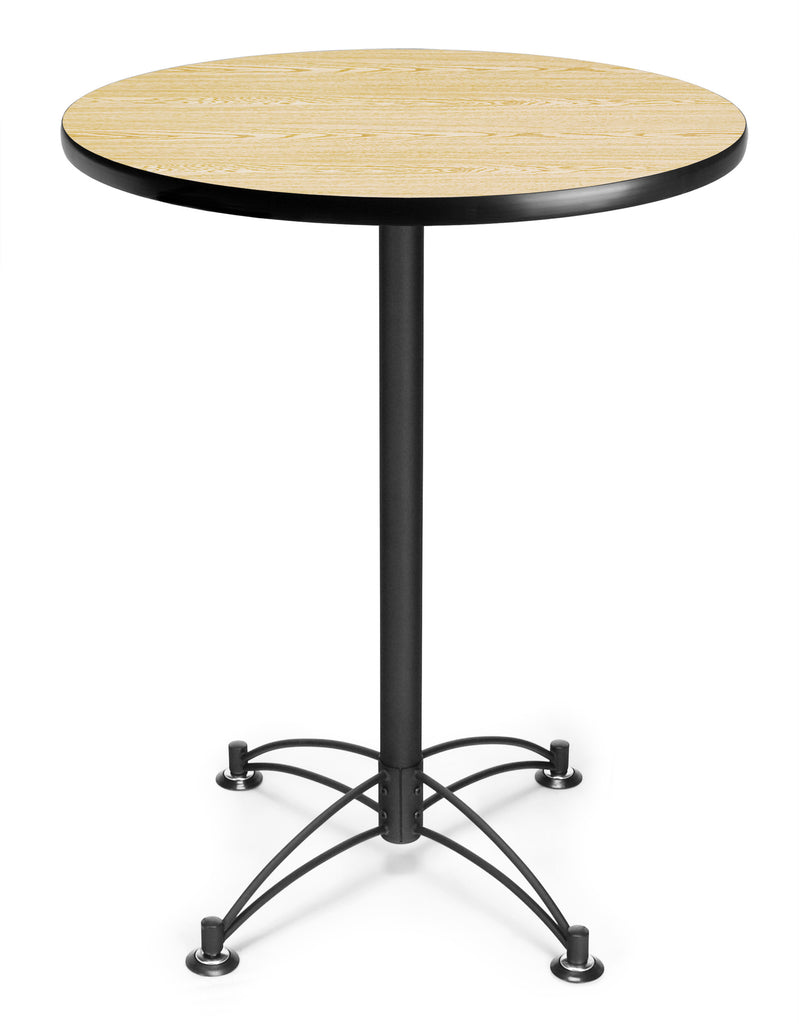 "OFM Core Collection Model CBLT30RD Round Cafe Height Table, 30"" ; UPC: 845123006580 ; Image 1"