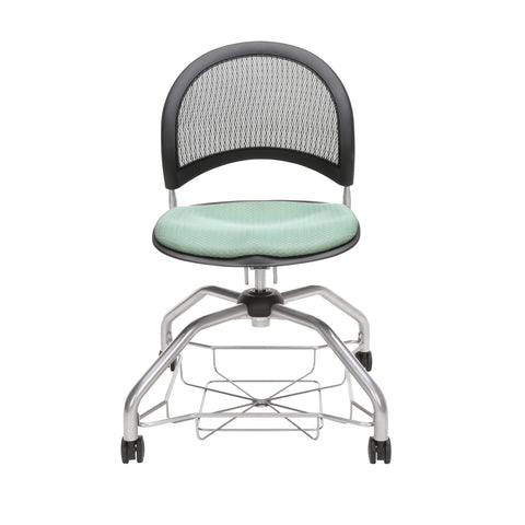OFM Moon Foresee Series Chair with Removable Fabric Seat Cushion - Student Chair, Sage Green (339) ; UPC: 845123094419 ; Image 2