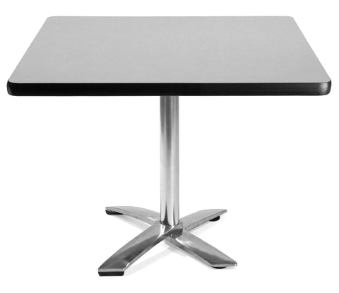 "OFM Model FT42SQ 42"" Square Flip-Top Multi-Purpose Table, Gray Nebula ; UPC: 811588010172 ; Image 1"