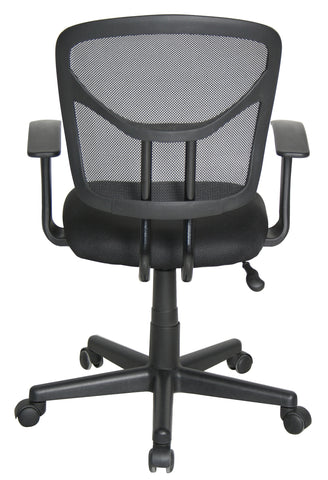Essentials by OFM E1001 Computer and Task Chair, Black ; UPC: 845123025130 ; Image 3