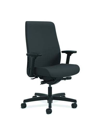 HON Endorse Mid-Back Task Chair with Lumbar Support, in Black (HLWU) ; UPC: 888531769357 ; Image 1