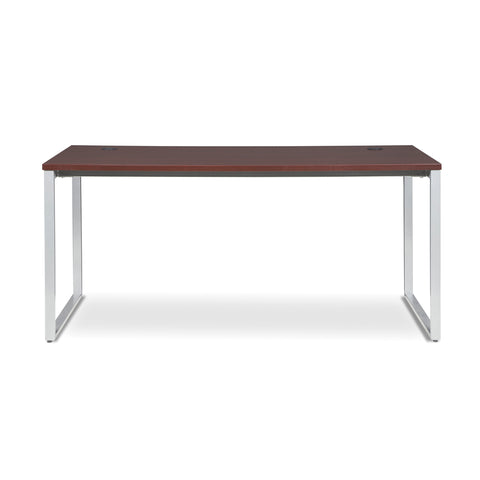 OFM Fulcrum Series 66x30 Desk, Minimalistic Modern Office Desk, Mahogany (CL-D6630-MHG) ; UPC: 845123097175 ; Image 2