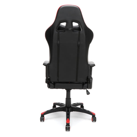 Essentials by OFM ESS-6065 Racing Style Gaming Chair, Red ; UPC: 845123095348 ; Image 3