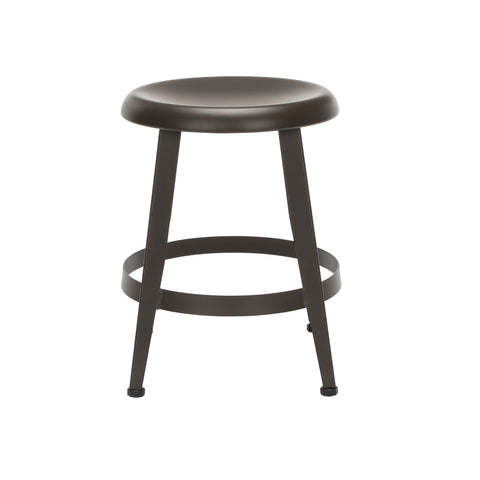 "OFM Core Collection Edge Series 18"" Table Height Metal Stool, in Antique Brown (33918M-ABRN) ; UPC: 192767002424 ; Image 5"
