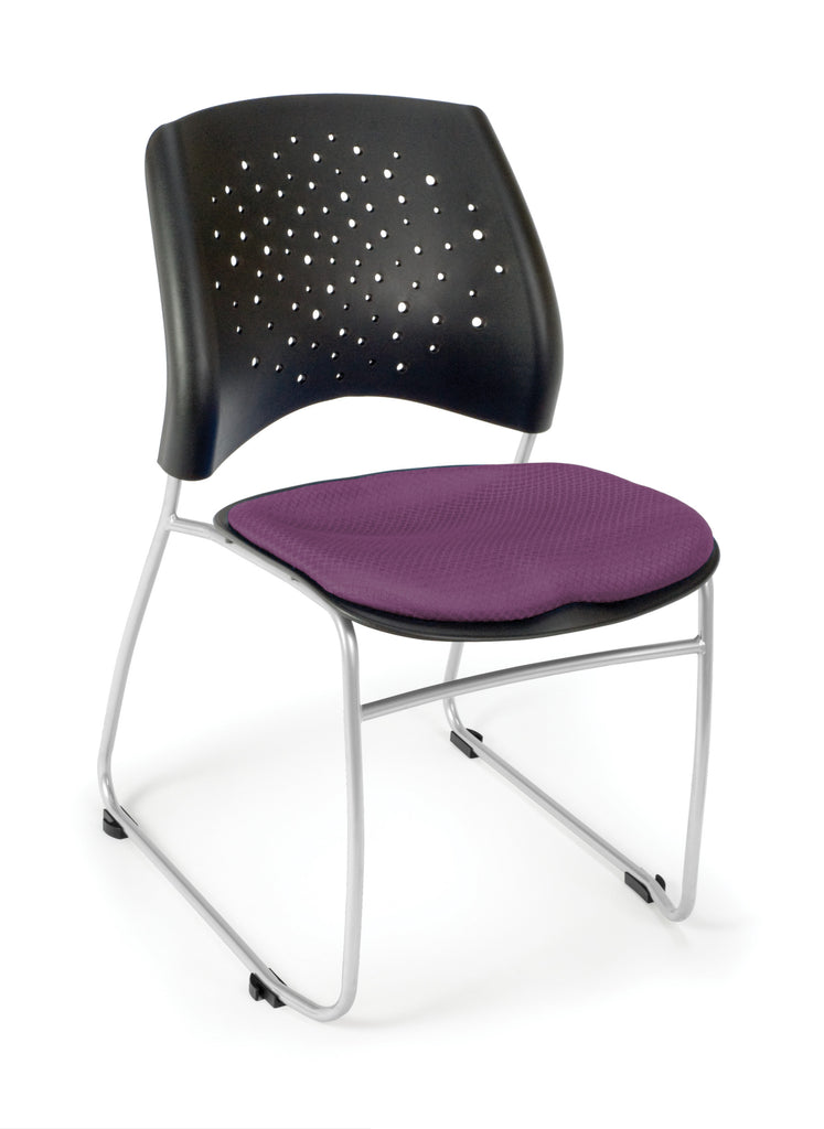 OFM 325-2214 Stars Stack Chair with Fabric Seat ; UPC: 845123004470 ; Image 1