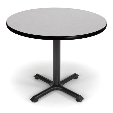 "OFM 36"" Multi-Purpose Round Table, Gray Nebula (XT36RD-GRYNB) ; UPC: 845123031957 ; Image 1"
