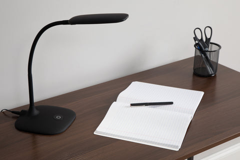 OFM ESS-9003-BLK Essentials LED Desk Lamp with Touch Control, Black ; UPC: 192767000543 ; Image 12