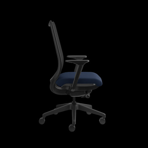 HON Nucleus Task Chair with Mesh Back, in Navy (HN1) ; UPC: 752856008142 ; Image 4