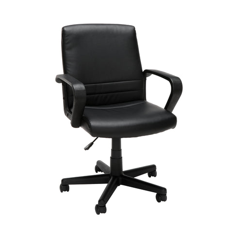 Essentials by OFM E1008 Mid Back Executive Chair, Black ; UPC: 845123032428 ; Image 1