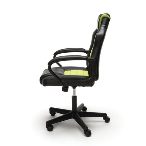 Essentials by OFM ESS-3083 Racing Style Gaming Chair, Green ; UPC: 845123092934 ; Image 5
