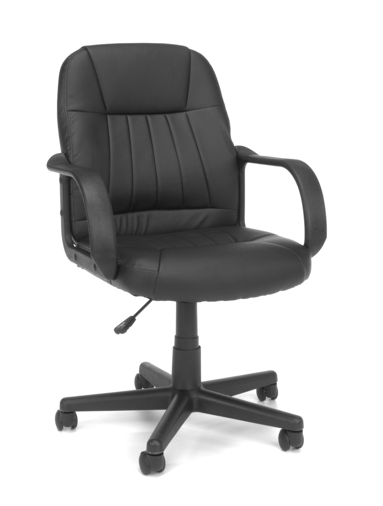 OFM Essentials Collection Executive Office Chair, in Black (E1007) ; UPC: 845123032411 ; Image 1