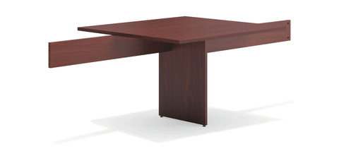 "HON Modular Conference Table, 48"" Adder Section, Mahogany (BSXBLMT48A) ; UPC: 641128329972 ; Image 1"