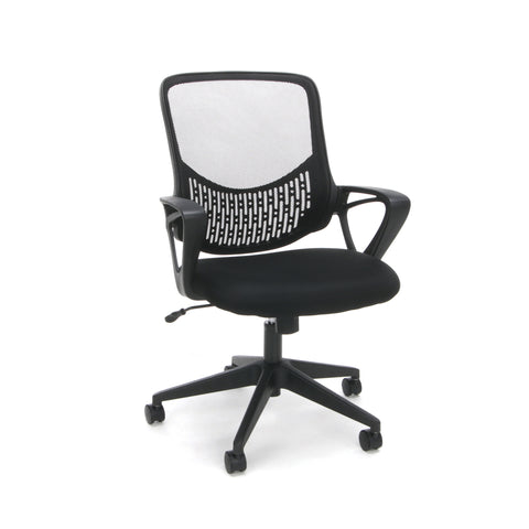 Essentials by OFM ESS-100 Mesh Back Task Chair, Black ; UPC: 845123080078 ; Image 1