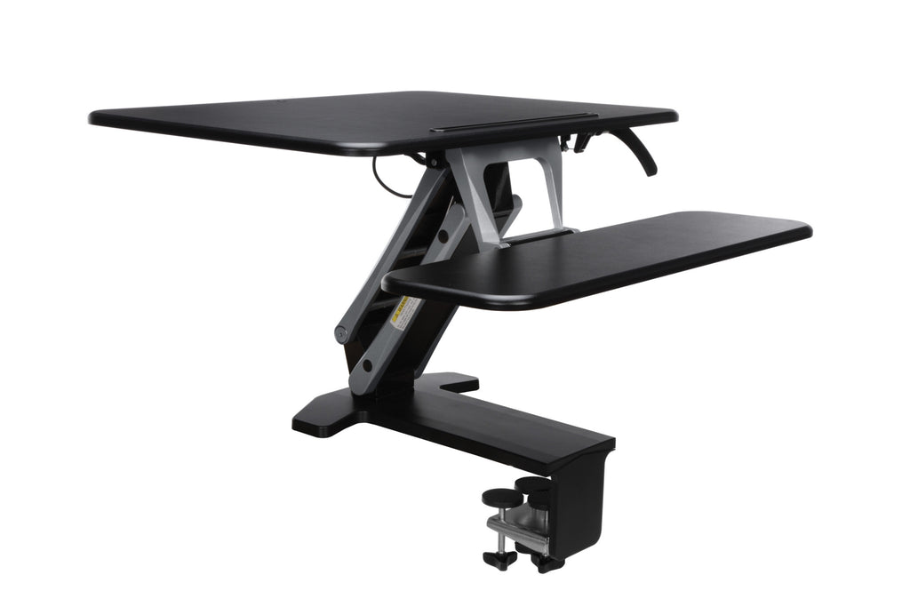OFM Model 5200S Height Adjustable Sit-to-Stand Small Workstation, Black ; UPC: 845123092781 ; Image 1