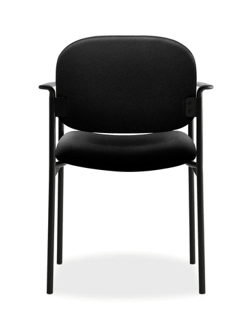 HON Scatter Guest Chair - Upholstered Stacking Chair with Arms, Office Furniture, Black (VL616) ; UPC: 645162996220 ; Image 3