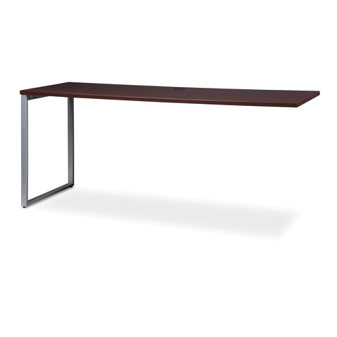 OFM Fulcrum Series 72x24 Credenza Desk, Desk Shell for Office, Mahogany (CL-C7224-MHG) ; UPC: 845123097250 ; Image 6
