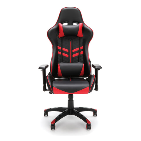 Essentials by OFM ESS-6065 Racing Style Gaming Chair, Red ; UPC: 845123095348 ; Image 2