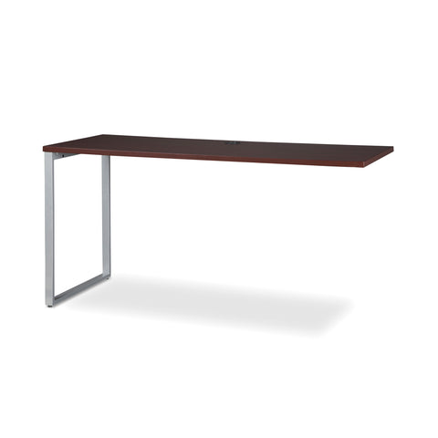 OFM Fulcrum Series 60x24 Credenza Desk, Desk Shell for Office, Mahogany (CL-C6024-MHG) ; UPC: 845123097335 ; Image 6