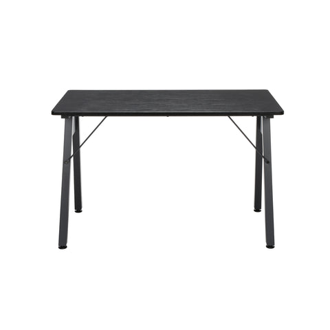 "OFM Essentials Collection 48"" Table Desk, Black Woodgrain (ESS-1050-BLK-BLK) ; UPC: 192767000123 ; Image 3"