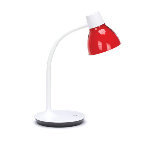 OFM ESS-9000-8PK-RED Essentials LED Desk Lamp with Integrated Touch Control, Red (Pack of 8) ; UPC: 192767000444 ; Image 4