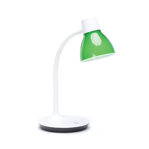 OFM ESS-9000-GRN Essentials LED Desk Lamp with Integrated Touch Control, Green ; UPC: 192767000420 ; Image 1