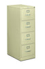 HON 310 Series Vertical File Cabinet Legal Width, 4 Drawers, Putty (H314C)