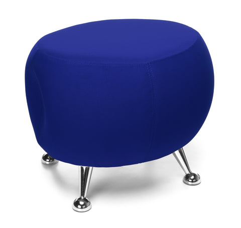OFM Jupiter Series Fabric Ball Stool, in Blue (2001-2336) ; UPC: 845123053362 ; Image 1