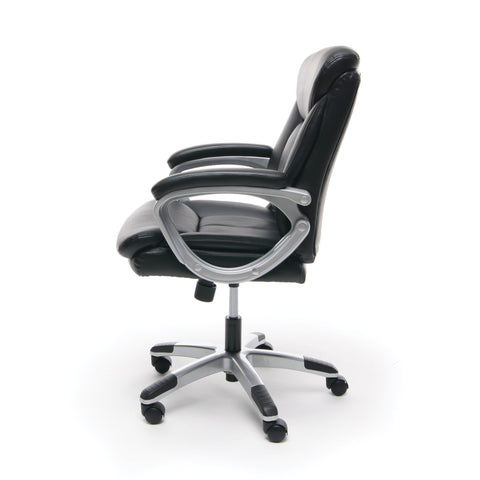 Essentials by OFM ESS-6020 Executive Office Chair, Black with Silver Frame ; UPC: 089191013860 ; Image 5